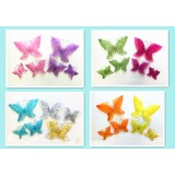 "BC1378D-5"" 3 D BUTTERFLY CLIP"