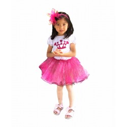 CTP607-CR- PRINCESS CROWN BIRTHDAY GIRL SET