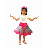 CTP607-BF- BUTTERFLY PRINCESS BIRTHDAY GIRL SET