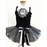 AM14015-BLACK CHEETAH DRESS UP 3 PC SET