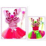 CTU1545- TWO TONE BUTTERFLY DRESS UP SET
