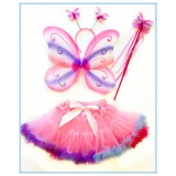 CTU1908-PK PRETTY PINK BUTTERFLY FAIRY SET