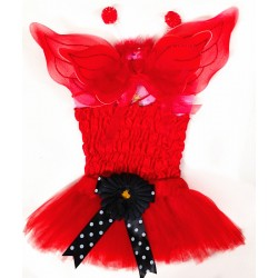 CTU2978RD- BABY RED CUPID DRESS UP SET