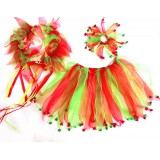 CTU306GR-XMAS JINGLE BELL DRESS UP SET