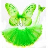 CTU6019-GR GREEN FAIRY DRESS UP SET