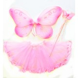 CTU6019-PK PINK FAIRY DRESS UP SET