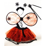 CTU8003- ORANGE SPIDER DRESS UP SET