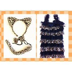 CTU8422-BABY LEOPARD DRESS UP SET