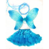 CTU8428-BLUE FAIRY  DRESS UP SET