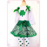 CTP338- CLOVER DRESS SET