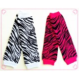 LW037-KNITTED ZEBRA DESIGN LEG WARMER