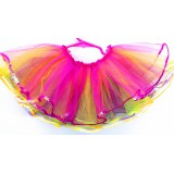 OD2015RB--MUITL COLOR 4 LAYER SEQUIN TUTU