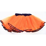 OD2019OR--ORANGE BLACK EDGE LAYER TUTU