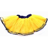 OD2019YL--YELLOW BLACK EDGE LAYER TUTU