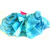 OD2025-1BL--Blue Wavy Sheer Tutu