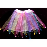 OD294--SHEER RIBBON MULTI COLOR TUTU