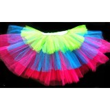 OD2021--Three Tier Multicolor Tutu
