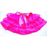 OD2025HP--HOT PINK SHEER TIERED TUTU