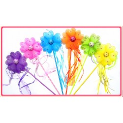 "WD28012-5"" FLOWER WAND"
