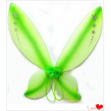 NL2613D-GREEN TWINKLE FAIRY WING