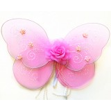 "NL2366-14""PINK ROSE BABY WING"