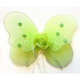 "NL2368-14"" LIME BABY ROSE WING"