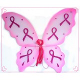 "NL3275-23"" BREAST CANCER  PINK RIBBON WING"