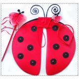 TZ0023--LADY BUG WING SET