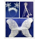 TZ3224-1 SNOW FLAKE 3 PCS SET