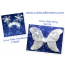 TZ3224-- SNOW FLAKE WING SET