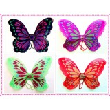 "W29100- 20""MULTI COLOR BUTTERFLY WING"