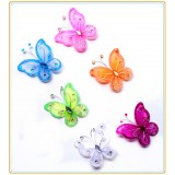"A-17B  2.5"" BUTTERFLY DECOR"