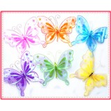 """BC2050B-10.5"""" BUTTERFLY CLIP DECOR"""