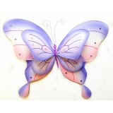 "B21965-PP 21"" DOUBLE LAYER BUTTERFLY DECOR"