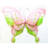 "B21965-PK 21"" DOUBLE LAYER BUTTERFLY DECOR"