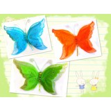 """BC29016-11"""" 3D BUTTERFLY CLIP DECOR"""