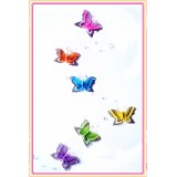 BS22000-LONG BUTTERFLY HANGING DECOR