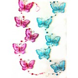 BS29033-SHEER BUTTERFLY HANGING DECOR