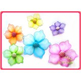 "FC28041L-16"" HEART FLOWER CLIP DECOR"
