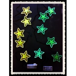 NL2648-6T LIGHT UP STAR HANGING DECOR