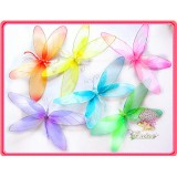 "NL2671L-14"" SHEER DRAGONFLY DECOR"