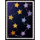 SS29030-STAR HANGING DECOR
