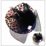 CTR030-LEOPARD MINI HAT CLIP