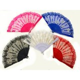 FN-22 LACE ROSE PARTY FAN