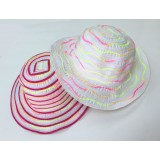 HA759-FABRIC RAINBOW KID HAT