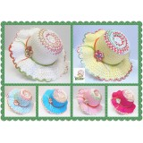 HT401- KIDS TEA PARTY & SUN STRAW HAT