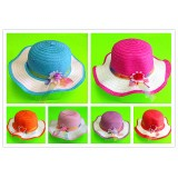 HT520-SOLID COLOR TEA PARTY HAT