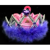 CTR004-PURPLE STONE TIARA