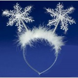 CTR008- SNOW FLAKE ANTENNA HEADBAND
