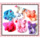 HA2051-VELVET  BUTTERFLY PONY HOLDER